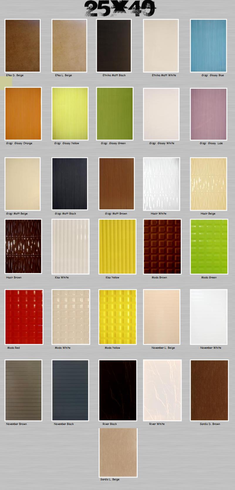 Керамическая плитка каталог